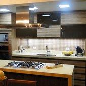 Hispada - Projetos - Cozinhas - Cozinha planejada sob medida - [Projeto 18]